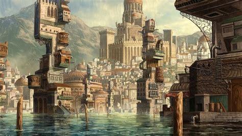 water town shen fei  artstation  httpwww