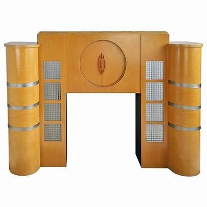 Deco Fireplace Mantel Streamline Fireplaces 1stdibs Mantels