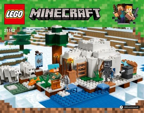 lego minecraft instructions childrens toys
