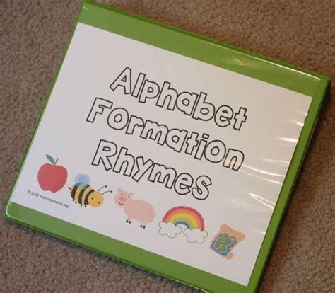 alphabet formation rhymes alphabet letters  ojays