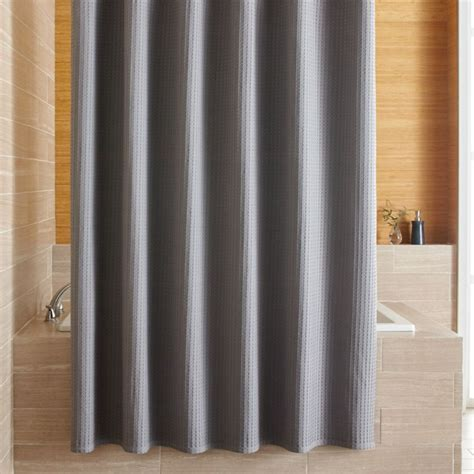 willow grey shower curtain  shower curtains rings
