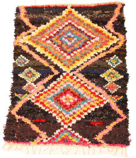 moroccan boucherouite rug moroccan berber rug boucherouite 175 x 130 cm