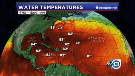 atlantic water temperatures abccom