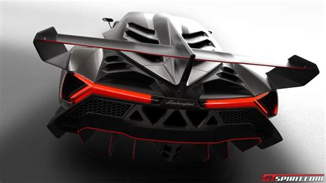 Gt Wing Stands by Official Lamborghini Veneno Gtspirit