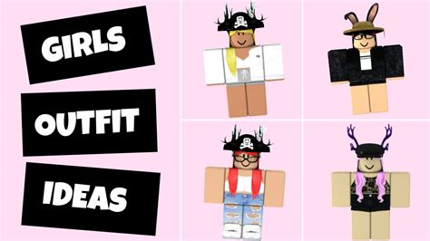 6 Roblox Outfit Ideas (girls Edition)