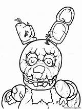 Coloring Pages Fnaf Freddy Nights Five Printable Freddys Print Night Sheets Drawings Discover sketch template