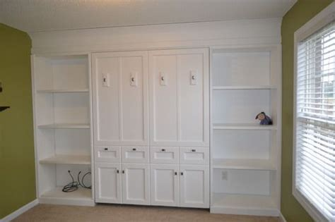White Murphy Bed by White Murphy Bed Home Shelves Storage Closets