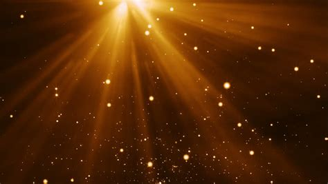 gold particles light stream stock footage video
