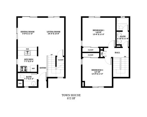 2 bedroom apartment building floor plans with