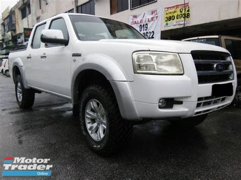 ford ranger  xl tdi  double cab diesel bank