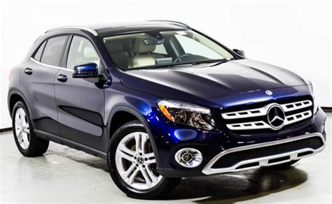 Request a dealer quote or view used cars at msn autos. 2018 Mercedes-Benz GLA 250 4MATIC SUV | Lunar Blue Metallic U15291