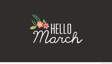 March Hd Picture hello march wallpaper hd 2016