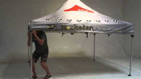 setup   pop  event tent  called ez  event tents youtube