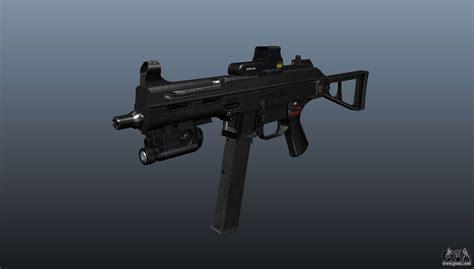 submachine gun hk ump   gta