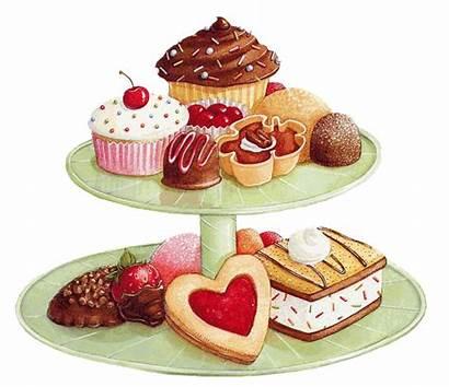 Clipart Dessert Desserts Buffet Sweets Baked Webstockreview