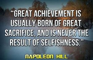 Image result for sacrifice quote