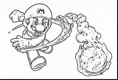 Mario Coloring Super Odyssey Pages Galaxy Printable