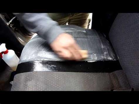 nettoyage sieges voiture comment nettoyer détacher laver un siège banquette de