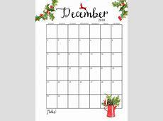 Free December 2018 Calendar Downloadable – Free Calendar