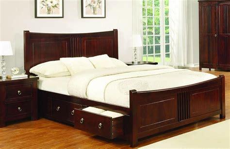 sweet dreams mahogany drawer bed frame cm super king