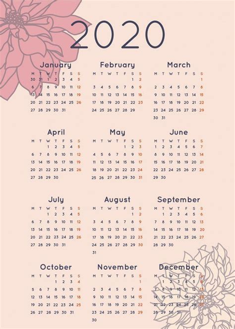 newest pictures  calendar aesthetic style