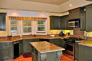 dream kitchen with black cabinets 1736
