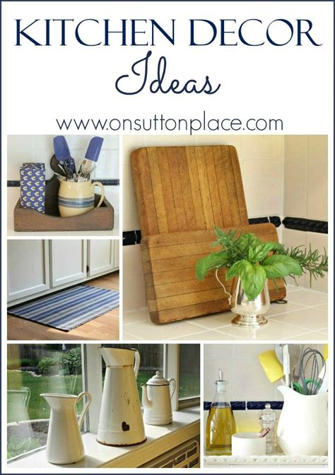 diy kitchen decor ideas kitchen decor ideas on sutton place
