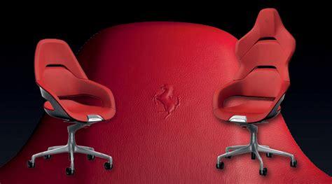 Ferrari Design The Cockpit Office Chair For Poltrona Frau