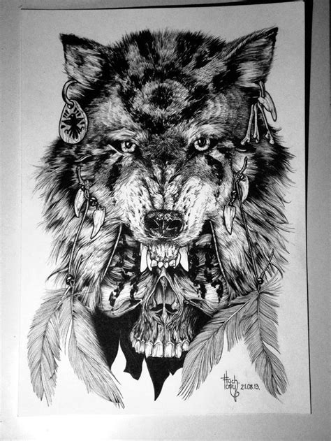 41 best Native American Wolf Symbols Tattoos images on
