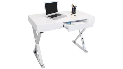 white desk with silver legs executive office desk walnut popular now food trends ces