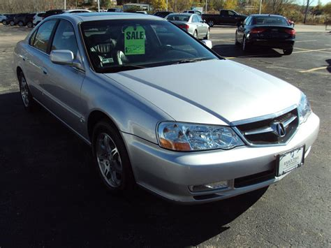 used 2003 acura 3 2tl sedan for sale 3 999 executive