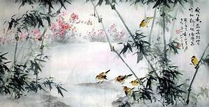 Chinese Trees & Bamboo Painting : Artisoo.com, Buy Hand ...