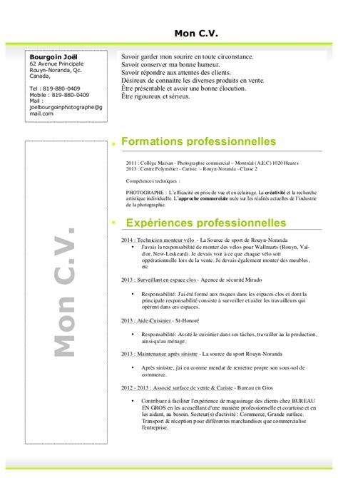bureau suisse curriculum vitea 2015 mon c v