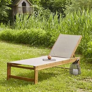 Bain De Soleil Gris : bain de soleil en bois d 39 acacia fsc et textil ne gris ~ Dode.kayakingforconservation.com Idées de Décoration