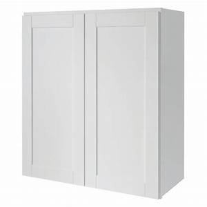 Shop kitchen classics arcadia 27 in w x 30 in h x 12 in d for Kitchen cabinets lowes with big w wall art
