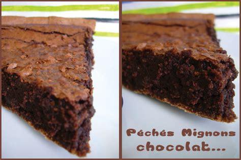 tarte au chocolat sans pate