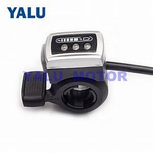 Wuxing Ebike Thumb Throttle Gas Accelerator For E