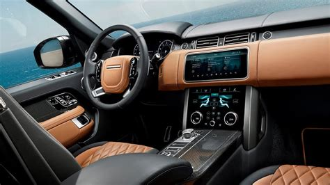 Range Rover Inside by 2019 Range Rover Interior Design