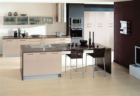 cuisine avec ilot central et bar un îlot de cuisine galerie photos d 39 article 7 9