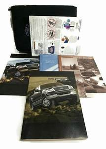 2004 Ford F150 Truck Owners Manual Guide Book 04 Ford