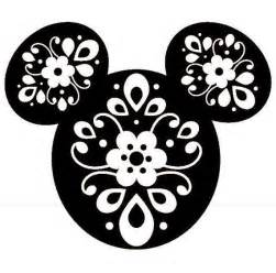 Disney Mickey Mouse Head SVG