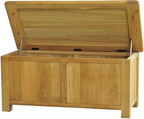 Large Bedroom Trunk by Pendle Solid Oak Bedroom Furniture Large Storage Blanket