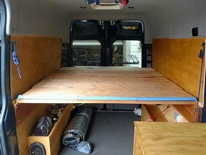 Bed Sprinter Van Platform Build Adventure Camper