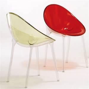 Philippe starck39s mr imposible chair from kartell for Kartell plastic chair