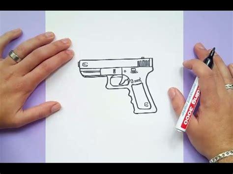 Todo esto lo encontrarás aquí. Como dibujar una pistola paso a paso 4 | How to draw a gun 4 - YouTube