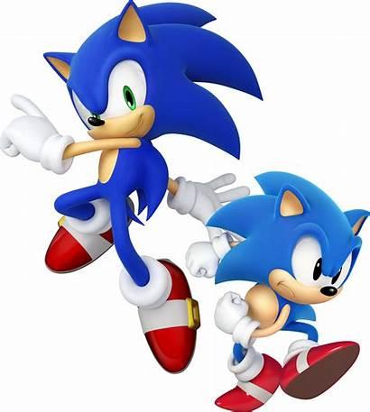 Sonic Generations Retro Classic Modern