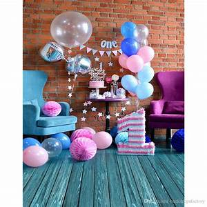 2018 5x7ft Baby'S 1st Birthday Party Photography Backdrop ...