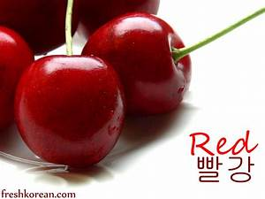 Red – Fresh Korean Word of the Day for Monday July 30th ...