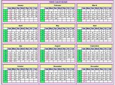 1809 Calendar