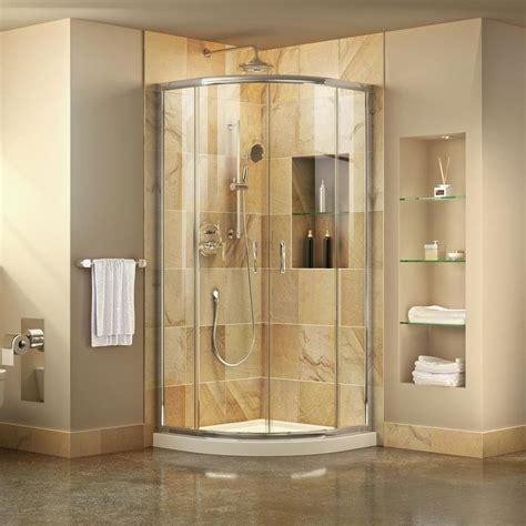 shower kit shop dreamline prime white acrylic floor 2